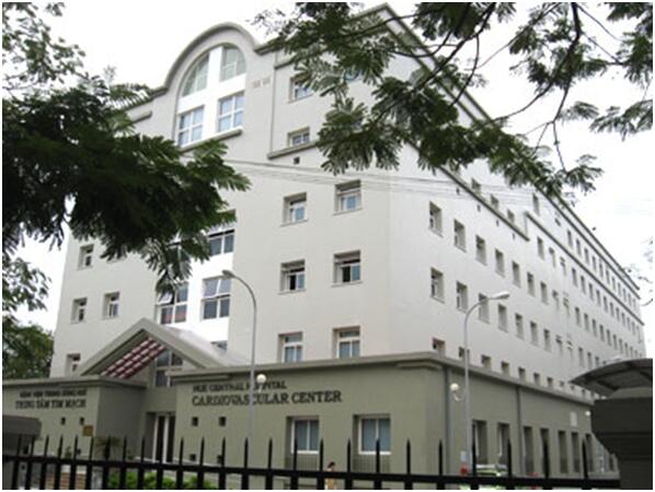 Trung Tâm tim mạch - Bệnh viện Trung ương Huế